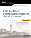 AWS Certified SysOps Administrator Official Study Guide: Associate Exam (1119377420) cover image