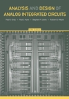Analysis and Design of Analog Integrated Circuits, 5th Edition (EHEP000220) cover image