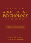 Handbook of Adolescent Psychology, Volume 2, Contextual Influences on Adolescent Development , 3rd Edition (0470149221) cover image