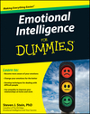 Emotional Intelligence For Dummies (0470157321) cover image