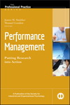Performance Management: Putting Research into Action (0470192321) cover image