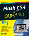 Flash CS4 All-in-One For Dummies (0470448121) cover image