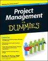 Project Management For Dummies, 3rd Edition (0470636521) cover image