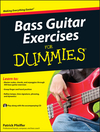 Bass Guitar Exercises For Dummies (0470647221) cover image