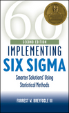 Implementing Six Sigma: Smarter Solutions Using Statistical Methods, 2nd Edition (0471265721) cover image