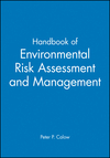 Handbook of Environmental Risk Assessment and Management (0865427321) cover image