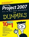 Microsoft Office Project 2007 All-in-One Desk Reference For Dummies (1118051521) cover image