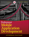Professional Mobile Application Development (1118228421) cover image