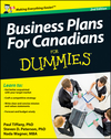 Business Plans For Canadians for Dummies, 2nd Edition