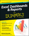 Excel Dashboards and Reports For Dummies, 2nd Edition (1118842421) cover image
