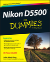 Nikon D5500 For Dummies (1119101921) cover image