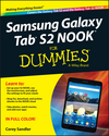 Samsung Galaxy Tab S2 NOOK For Dummies (1119171121) cover image