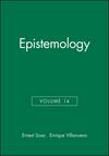 Epistemology, Volume 14 (1405119721) cover image
