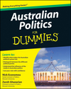 Australian Politics For Dummies (1742169821) cover image