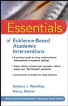 Essentials of Evidence-Based Academic Interventions (0470206322) cover image