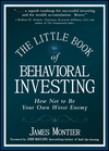 The Little Book of Behavioral Investing: How not to be your own worst enemy (0470686022) cover image