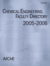 Chemical Engineering Faculty Directory: 2005-2006 (0471794422) cover image