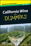 California Wine For Dummies, Mini Edition (1118042522) cover image