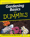 Gardening Basics For Dummies (1118050622) cover image