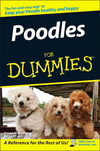 Poodles For Dummies (1118068122) cover image