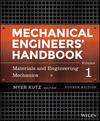 Mechanical Engineers' Handbook, Volume 1: Materials and Engineering Mechanics, 4th Edition (1118112822) cover image