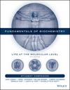 Student Companion to Accompany Fundamentals of Biochemistry, 5th Edition (1119295122) cover image