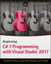 Beginning C# 7 Programming with Visual Studio 2017 (1119458722) cover image