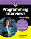 Programming Interviews For Dummies (1119565022) cover image