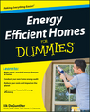 Energy Efficient Homes For Dummies (0470376023) cover image