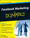 Facebook Marketing For Dummies (0470487623) cover image