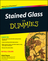 Stained Glass For Dummies (0470591323) cover image