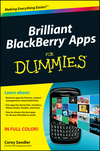 Brilliant BlackBerry Apps For Dummies (0470903023) cover image