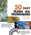 50 Fast Macromedia® Flash MX Techniques (0764536923) cover image
