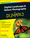 Digital Landscape and Nature Photography For Dummies (1118065123) cover image