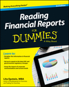 Reading Financial Reports For Dummies, 3rd Edition (1118775023) cover image