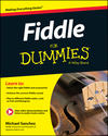Fiddle For Dummies, Book + Online Video and Audio Instruction (1118930223) cover image
