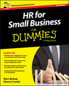 HR for Small Business For Dummies - UK, UK Edition (1119111323) cover image