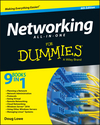 Networking All-in-One For Dummies, 6th Edition (1119154723) cover image
