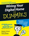 Wiring Your Digital Home For Dummies (0470106824) cover image