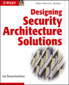 Designing Security Architecture Solutions (0471206024) cover image