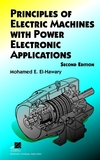 Principles of Electric Machines with Power Electronic Applications, 2nd Edition (0471208124) cover image
