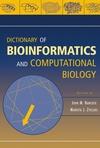 thumbnail image: Dictionary of Bioinformatics and Computational Biology
