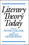 Literary Theory Today (0745609724) cover image