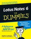 Lotus Notes 6 For Dummies (1118085124) cover image