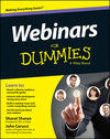 Webinars For Dummies (1118885724) cover image