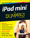 iPad mini For Dummies, 3rd Edition (1118933524) cover image