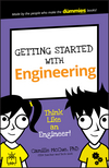 Getting Started with Engineering: Think Like an Engineer! (1119291224) cover image