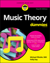 Music Theory For Dummies, 4th Edition (1119575524) cover image