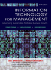 Information Technology for Management: Advancing Sustainable, Profitable Business Growth, 9th edition (EHEP002524) cover image