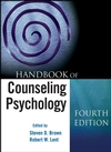 Handbook of Counseling Psychology, 4th Edition (0470096225) cover image